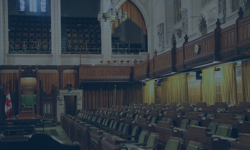 Photo of Canadian House of Commons Chairs